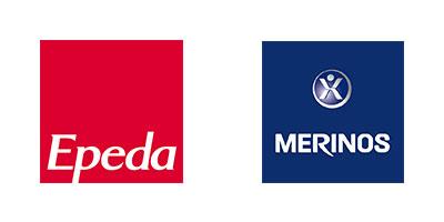 Logos des marques françaises Epéda et Mérinos